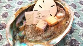 Amenities like organic soaps!