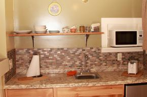 Kitchenette with modern amenities